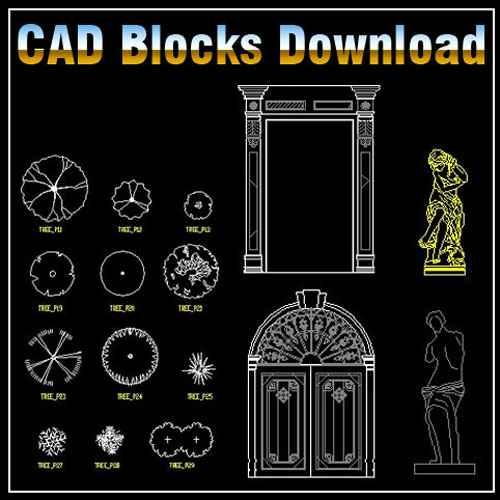 Landscape Design 2d Blocks Download Cad Blocksdrawings